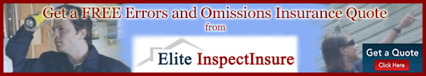 Elite MGA Home Inspector E&amp;O Insurance